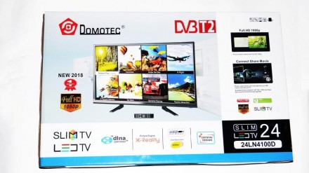 "LCD LED Телевизор Domotec 24"" DVB - T2 12v/220v HDMI IN/USB/VGA/SCART/COAX OUT/P. Днепр, Днепропетровская область. фото 8"