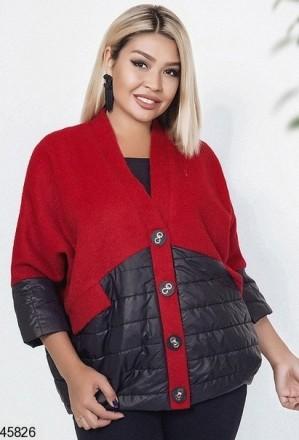Новинка! стильная куртка демисезонная большие размеры: 48-52, 54-58. Чернигов. фото 1