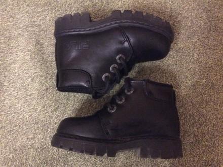 Демисезонные ботинки FILA 22 размер. Винница. фото 1