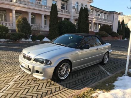 Продам BMW Cabrio в кузове е46, объемом  2.5i (m54b25), 2002 года выпуска серого. Киев, Киевская область. фото 4