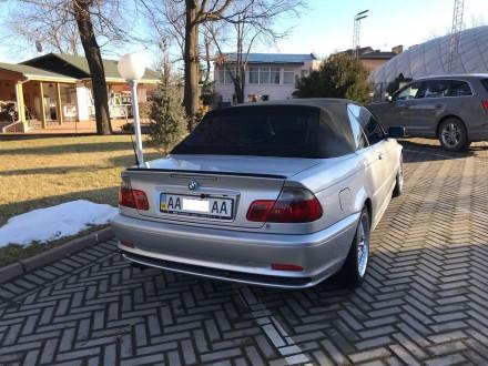 Продам BMW Cabrio в кузове е46, объемом  2.5i (m54b25), 2002 года выпуска серого. Киев, Киевская область. фото 3