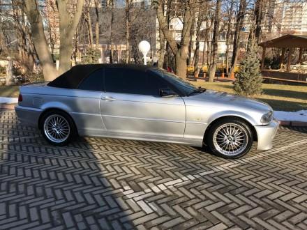 Продам BMW Cabrio в кузове е46, объемом  2.5i (m54b25), 2002 года выпуска серого. Киев, Киевская область. фото 5