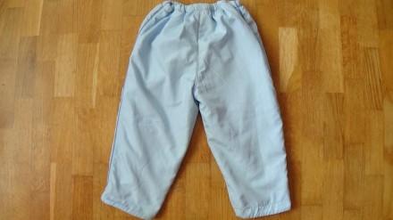 Детский комплект голубого цвета. И курточка и штаны на флисе. Размер на 2-3 года. Мелитополь, Запорожская область. фото 7