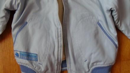 Детский комплект голубого цвета. И курточка и штаны на флисе. Размер на 2-3 года. Мелитополь, Запорожская область. фото 3