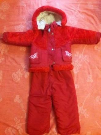 Продам зимний комбинезон на девочку на возраст 2-3 годика. Состояние хорошее, но. Чернигов, Черниговская область. фото 3