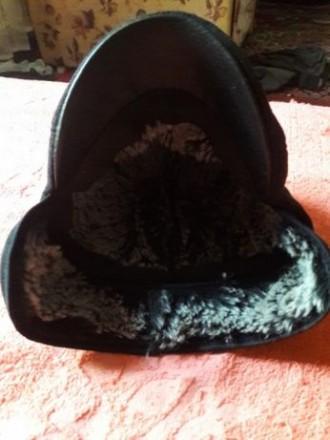 Теплая шапочка с козырьком для мальчика Глубина 12 см, объем 48-50, на возраст . Чернигов, Черниговская область. фото 4