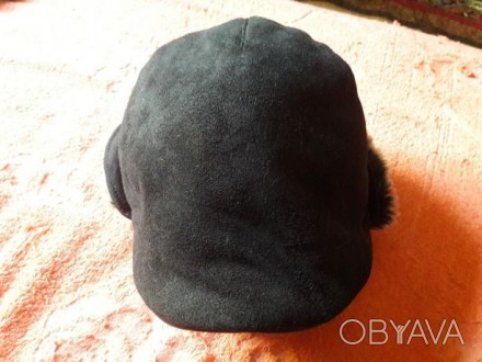 Теплая шапочка с козырьком для мальчика Глубина 12 см, объем 48-50, на возраст . Чернигов, Черниговская область. фото 1