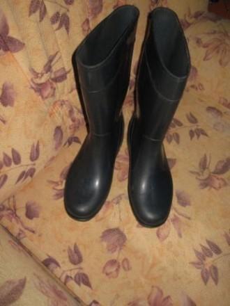 СРОЧНО! Продам женские резиновые сапоги, размер 38-39,  Состояние идеальное, но. Чернигов, Черниговская область. фото 3
