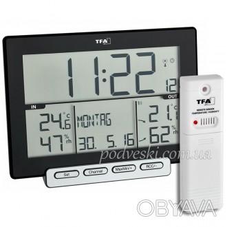 Цифровая метеостанция предназначена для контроля температуры и влажности как вну. Киев, Киевская область. фото 1