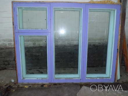 """Продається віконний блок, дерев""""яний, дворамний зі склом. Розміри: 148х117 см.. Чернигов, Черниговская область. фото 1"""