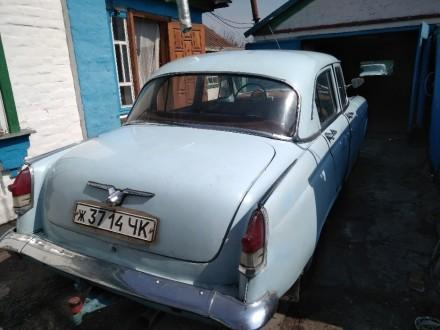 Продаю Волгу ГАЗ-21, 1962 года выпуска. Один владелец. Коробка передач от ГАЗ-24. Драбов, Черкасская область. фото 3