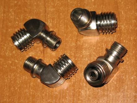 Переходник-уголок 90-110 ° на легочный автомат 2-ую ступень регулятора акваланга. Запорожье. фото 1