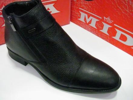 Ботинки мужские МИДА натур кожа .42.44.45 раз 125. Верхнеднепровск. фото 1