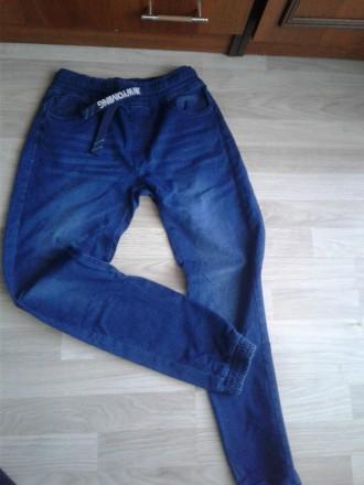 джинси хлопчакові. Стрий. фото 1