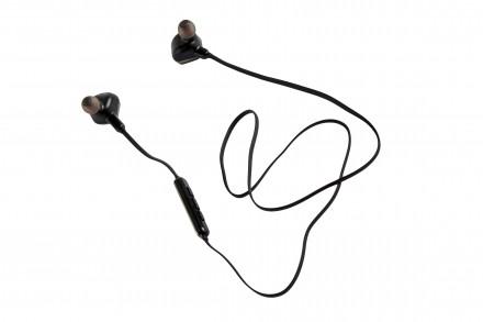 Бездротові вакуумні Bluetooth навушники Remax RB-S2 Magnet Sports Headset. Винница. фото 1