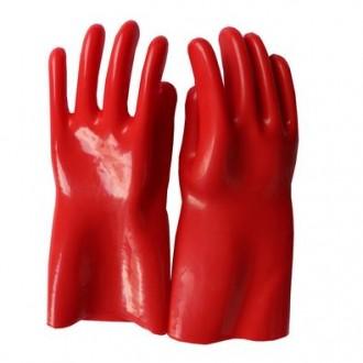 Диэлектрические резиновые перчатки (класса 1). Киев. фото 1