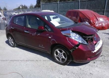2012 Nissan Leaf США. Киев. фото 1