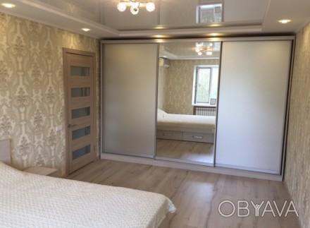 Квартира находится за цирком,район Украины,в квартире есть двуспальная кровать,2. Орджоникидзевский, Запорожье, Запорожская область. фото 1