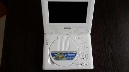 Портативный DVD плеер Ergo 7880TV .. Запорожье. фото 1