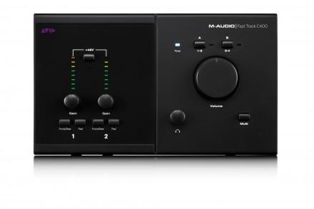 M-Audio FAST TRACK C400 Профессиональный аудиоинтерфейс. Функциональное и мобил. Киев, Киевская область. фото 3