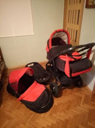Продам дитячу коляску 3в 1.. Шацк. фото 1