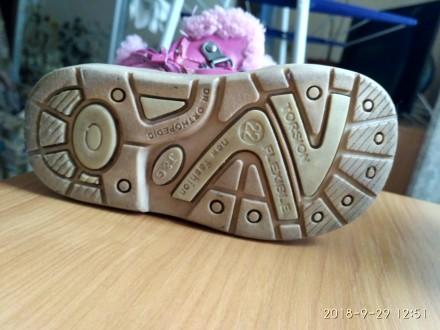 Яскраві чобітки черевики для дівчинки. Київ. фото 1