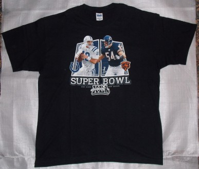 Футбол Superbowl XLI: Peyton Manning vs Brian Urlacher. Кривой Рог. фото 1