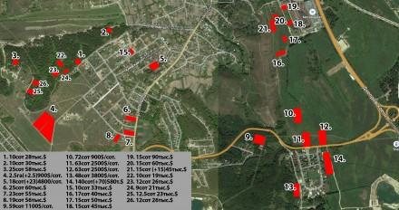 Киево-Святошинский район, с. Ходосовка,есть участки в элитном районе, коттеджные. Ходосовка, Киевская область. фото 3