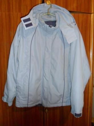 Демисезонная теплая женская куртка на флисовой подкладке.Размер 50-52. Харьков. фото 1
