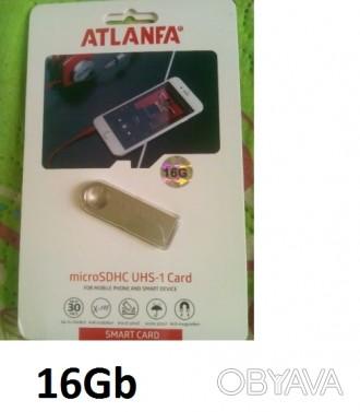 Флеш-карта ATLANFA на 16 Gb c кольцом под ключ. Чернигов, Черниговская область. фото 1