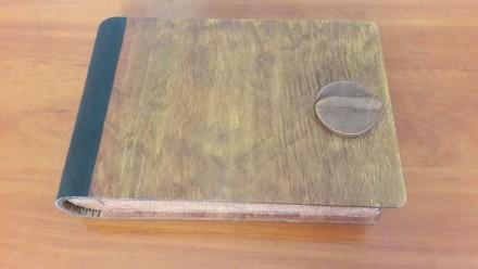 Коробка, подарок, сувенир, для бумаги, для украшений, дерево, кожа. Одесса. фото 1