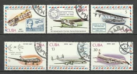 Продам марки Кубы 6 шт Авиация. Киев. фото 1