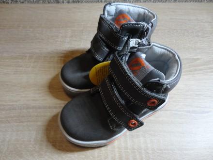 Детские ботиночки для мальчиков Clibee (21-26). Николаев. фото 1