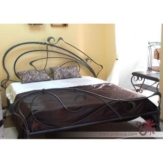 В наличии кровать кованая 2000*1800, кованая кровать, кровать в наличии, кровать. Харьков. фото 1