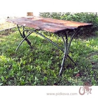 В наличии кованый стол Бамбук, кованый стол, стол кованый в наличии, стол. Харьков. фото 1