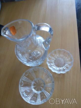 новая посуда кувшин для напитков исольнички или использовать для соусов. Гайворон, Кировоградская область. фото 1