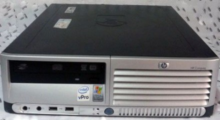 Двухъядерный компьютер HP Core 2 Duo 1.86 GHz (Германия). Сватовo. фото 1