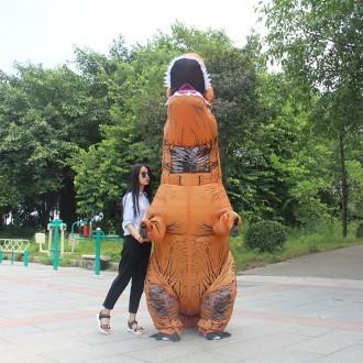 Надувной Костюм Динозавра для Взрослого T-REX (Тиранозавр, Костюм Тирекса).. Одесса. фото 1