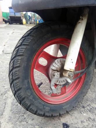 Скутер Honda Dio состояние видно на фото. Всё исправно. Ездит. Звоните: +38 06. Сватовo, Луганская область. фото 5