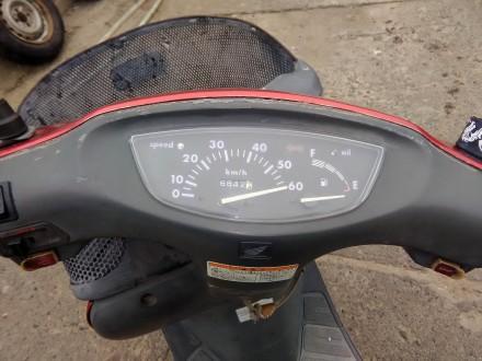 Скутер Honda Dio состояние видно на фото. Всё исправно. Ездит. Звоните: +38 06. Сватовo, Луганская область. фото 6