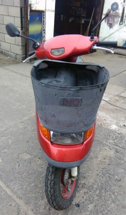Скутер Honda Dio состояние видно на фото. Всё исправно. Ездит. Звоните: +38 06. Сватовo, Луганская область. фото 3