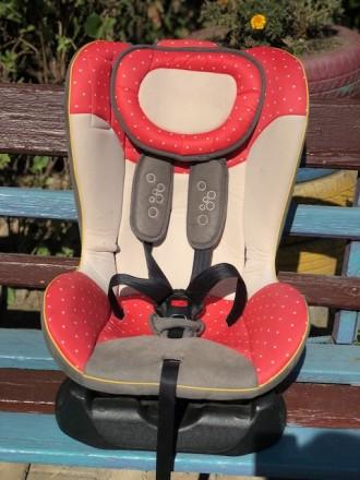 Детское автокресло группы 0/1 для детей весом до 18 кг. Черновцы. фото 1
