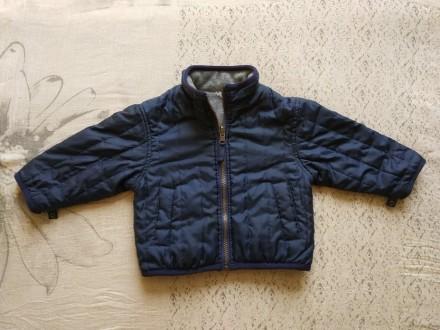 Двохстороння куртка на хлопчика 9-18 місяців. Баришівка. фото 1