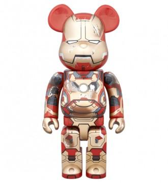 Bearbrick - Iron Man (Железный человек). Первомайск. фото 1