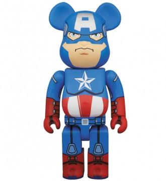Bearbrick - Captain America (Капитан Америка). Первомайск. фото 1