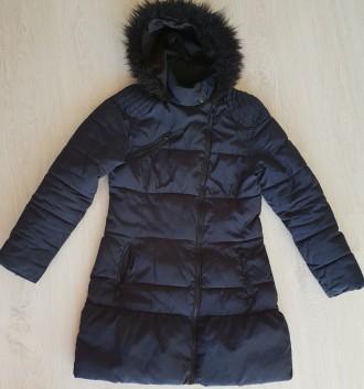 Зимнее теплое пальто Next для девочки 13-14 лет. Киев. фото 1