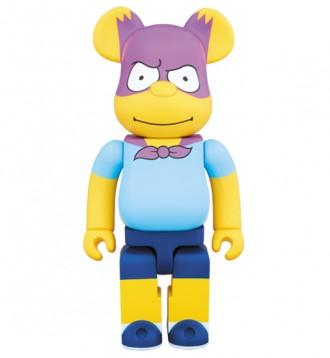 Bearbrick - Bartman (Барт Симпсон) / Homer Simpson (Гомер Симпсон). Первомайск. фото 1