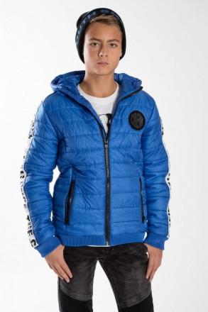 Reporter Young куртка демисезонная с капюшоном Blue. Одесса. фото 1