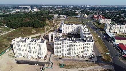 Общая площадь 2-комнатной квартиры - 60 кв.м  - комнаты раздельные;  - с кухни. Масаны, Чернигов, Черниговская область. фото 3