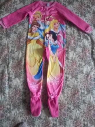Классная пижама- комбинезон для девочек США Дисней. Одесса. фото 1